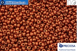 Preciosa czech seed beads 1 quality brown gold luster 10/0, 50g