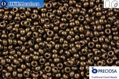 Preciosa czech seed beads 1 quality bronze 10/0, 50g