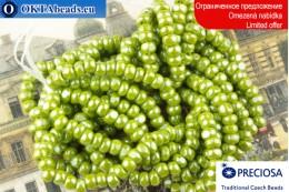 Прециоза Шарлотта салатовый глянцевый ~8/0, ~13гр XR0026