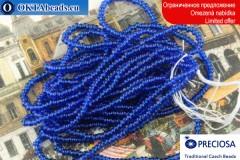 Preciosa Charlotte modrý ~14/0, ~4,7g