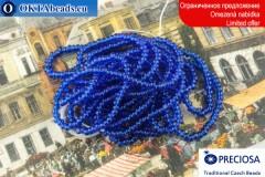 Preciosa Charlotte blue ~13/0, ~3,6g
