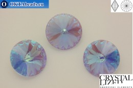1122 SWAROVSKI Rivoli Chaton - CC Blue Violet 12mm, 1pc sw317