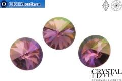1122 SWAROVSKI Rivoli Chaton - CC Rose Celadon 14мм, 1шт