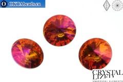 1122 SWAROVSKI Rivoli Chaton - Crystal Astral Pink 12mm, 1pc