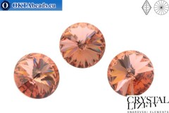 1122 SWAROVSKI Rivoli Chaton - Blush Rose 14mm, 1pc