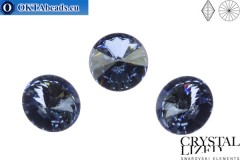 1122 SWAROVSKI Rivoli Chaton - Crystal Blue Shade 12mm, 1ks