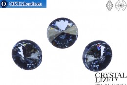 1122 SWAROVSKI Rivoli Chaton - Crystal Blue Shade 12mm, 1pc sw191