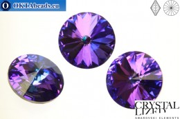 1122 SWAROVSKI Rivoli Chaton - Crystal Heliotrope 16mm, 1pc sw144