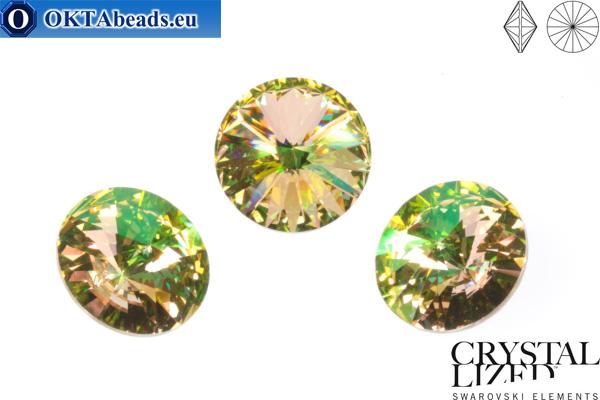 bc3185ca9 1122 SWAROVSKI Rivoli Chaton - Crystal Luminous Green 14mm, 1pc