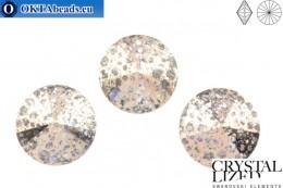 1122 SWAROVSKI Rivoli Chaton - Crystal Rose Patina 12mm, 1pc sw349