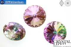 1122 SWAROVSKI Rivoli Chaton - Crystal Vitrail Light 18mm, 1pc