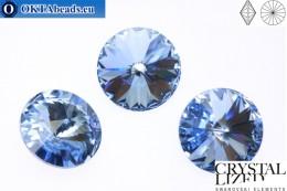 1122 SWAROVSKI Rivoli Chaton - Light Sapphire 12mm, 1pc sw118