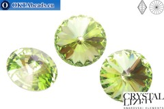 1122 SWAROVSKI Rivoli Chaton - Peridot 16mm, 1pc sw149