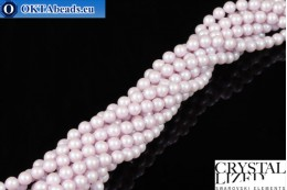 Swarovski crystal pearls Crystal Dreamy Rose Pearl 4mm, 1pc SWpearl-017
