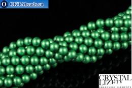 Swarovski crystal pearls Crystal Eden Green Pearl (2014) 4mm,1pc SWpearl-023