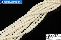 Swarovski crystal pearls Crystal Ivory Pearl 4mm, 1pc SWpearl-001