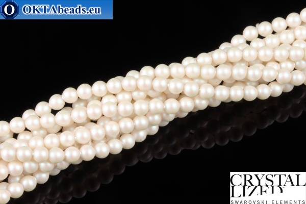 Swarovski хрустальный жемчуг Crystal Prearlescent White Pearl (969) 3мм,1шт SWpearl-020