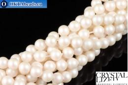 Swarovski křišťálové perly Crystal Prearlescent White Pearl (969) 5mm,1ks SWpearl-035