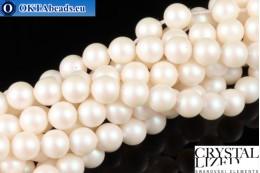 Swarovski křišťálové perly Crystal Prearlescent White Pearl (969) 6mm,1ks SWpearl-037