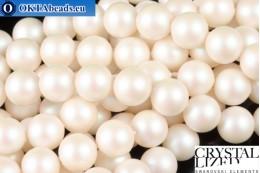 Swarovski křišťálové perly Crystal Prearlescent White Pearl (969) 8mm,1ks SWpearl-038