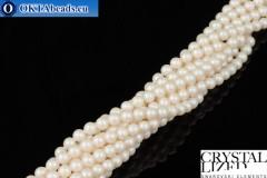 Swarovski хрустальный жемчуг Crystal Prearlescent White Pearl 4мм, 1шт