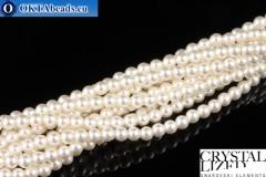 Swarovski хрустальный жемчуг Crystal White Pearl (650) 3мм,1шт