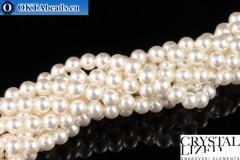 Swarovski хрустальный жемчуг Crystal White Pearl (650) 4мм,1шт