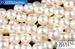 Swarovski křišťálové perly Crystal White Pearl (650) 8mm,1ks SWpearl-039