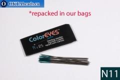 Coloreyes иглы для бисероплетения N11, 5шт