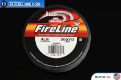FireLine Crystal bílý 4LB 0,12mm, 274m