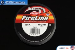 FireLine Crystal белый 4LB 0,12мм, 274м