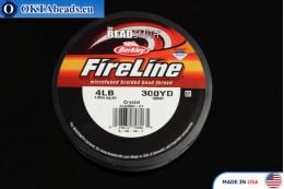 FireLine Crystal белый 4LB 0,12мм, 274м fireline001