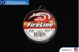 FireLine Crystal bílý 6LB 0,15mm, 45m fireline003