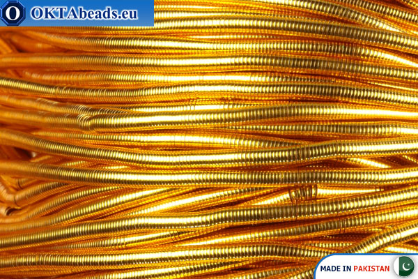 French wire Gold Heavy 1,1mm ~42cm-0,9gr fwire11