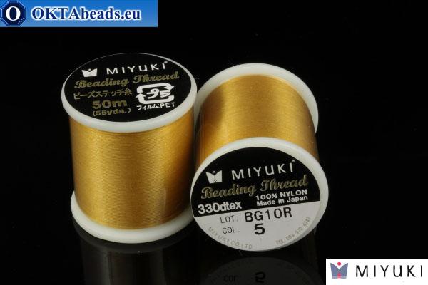 Miyuki nitě velikost B Gold 50m MI05