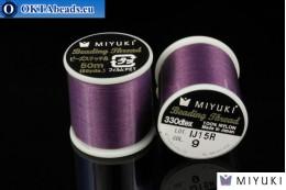 Miyuki нити размер B Purple 50м MI09