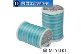 Miyuki bead crochet thread - Carribean Blue (101) ~25m MBC8-101