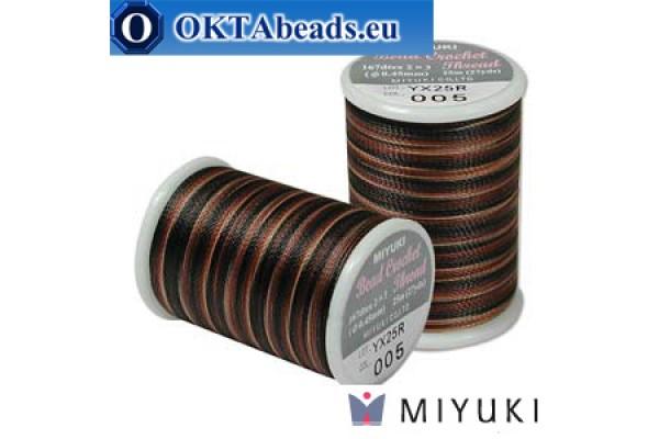 Miyuki нитки для вязания крючком - Pebble Stone (005) ~25м MBC8-005