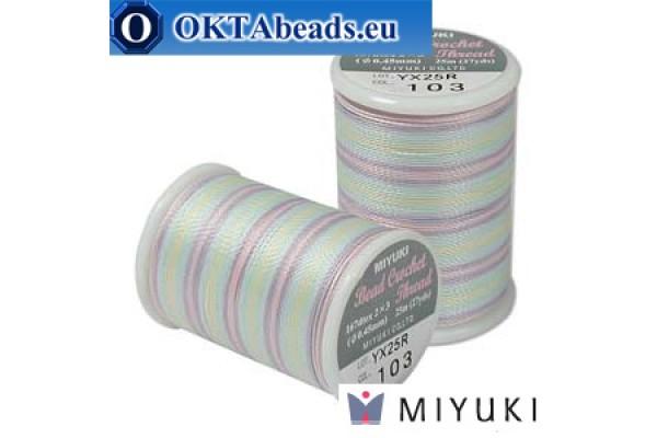 Miyuki nití na háčkování - Spring Flowers (103) ~25m