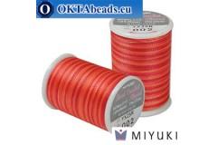 Miyuki нитки для вязания крючком - Tango (002) ~25м MBC8-002