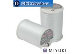 Miyuki nití na háčkování - White ~25m MBC8-WH