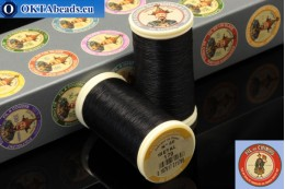 Threads Fil A Coudre Au Chinois Black (170) 0,35mm, 100m ch_MET_170