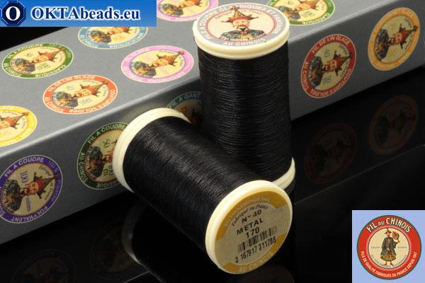 Nití Fil A Coudre Au Chinois Black (170) 0,35mm, 100m ch_MET_170