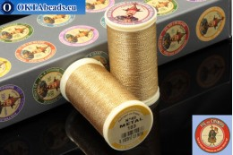 Threads Fil A Coudre Au Chinois Brass (103) 0,35mm, 100m ch_MET_103