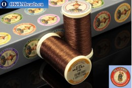 Threads Fil A Coudre Au Chinois Bronze (145) 0,35mm, 100m ch_MET_145