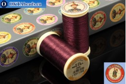 Threads Fil A Coudre Au Chinois Burgundy (255) 0,35mm, 100m ch_MET_255