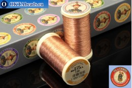 Threads Fil A Coudre Au Chinois Copper (130) 0,35mm, 100m ch_MET_130