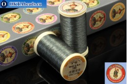 Threads Fil A Coudre Au Chinois Dark grey (165) 0,35mm, 100m ch_MET_165