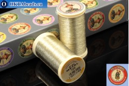 Threads Fil A Coudre Au Chinois Gold (102) 0,35mm, 100m ch_MET_102