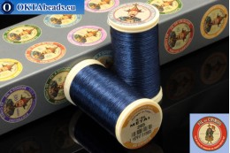 Threads Fil A Coudre Au Chinois Navy blue (265) 0,35mm, 100m ch_MET_265